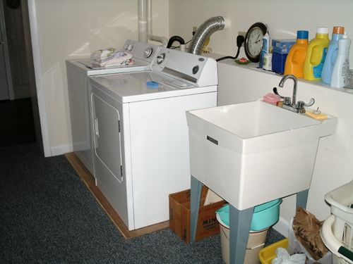how to install utility sink in laundry room